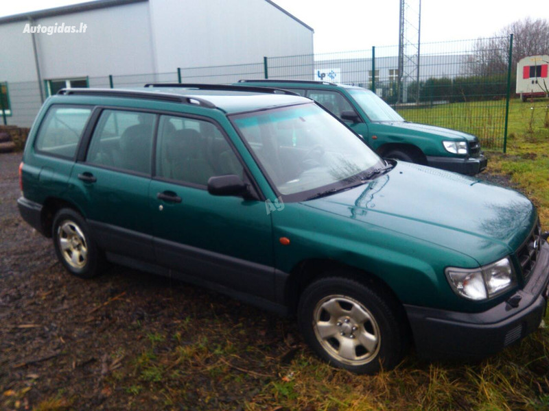 Subaru Forester I, 1998m.