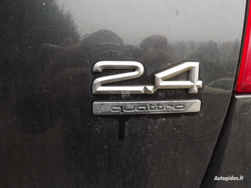Audi A6 C5 2.4 QUATRO MEHANIKA, 1999m.