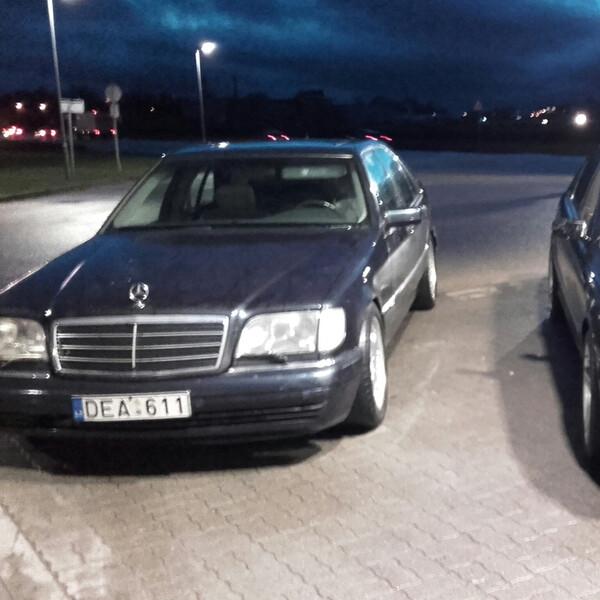 Mercedes-Benz S 300 W140 Labai tvarkingas 1998 m. dalys