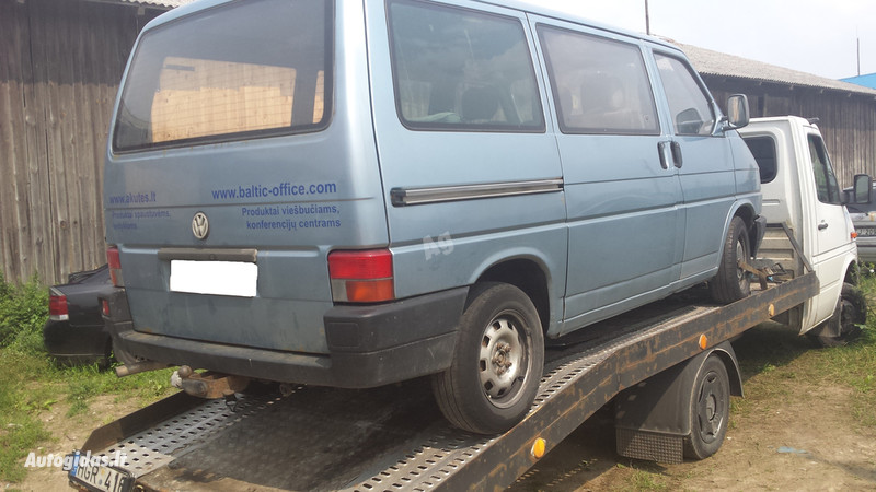 Volkswagen Transporter T4 1995 y. parts