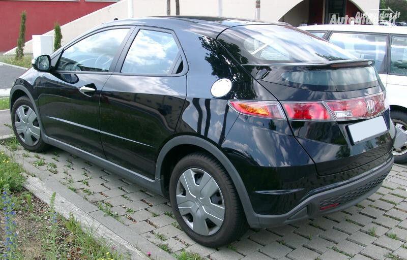 Honda Civic VIII europa,maza rida, 2009m.