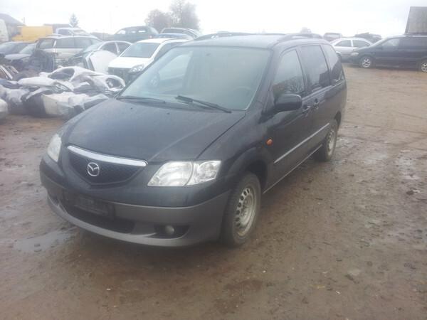 Mazda Mpv 2002 m. dalys