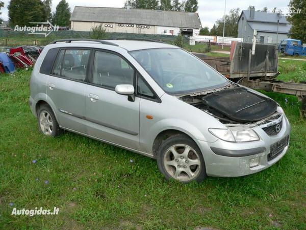 Mazda Premacy 2000 m. dalys
