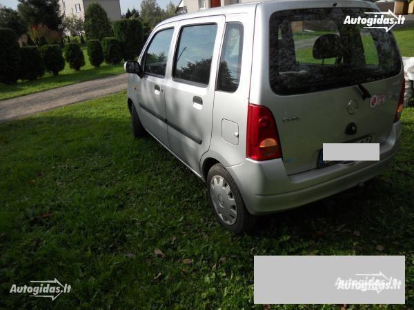 Opel Agila A 2002 m. dalys