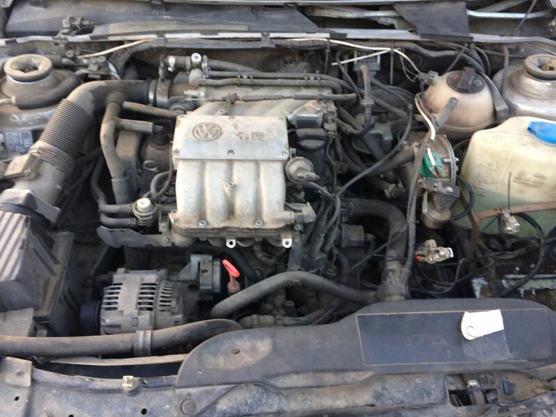 Volkswagen Passat B4 74kw, 1996 m. dalys