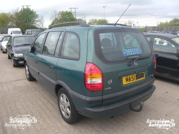 Opel Zafira A 2000 y. parts