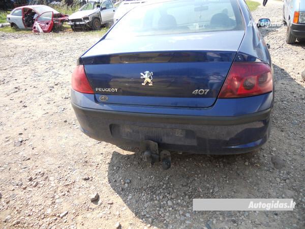 Peugeot 407 2004 y. parts