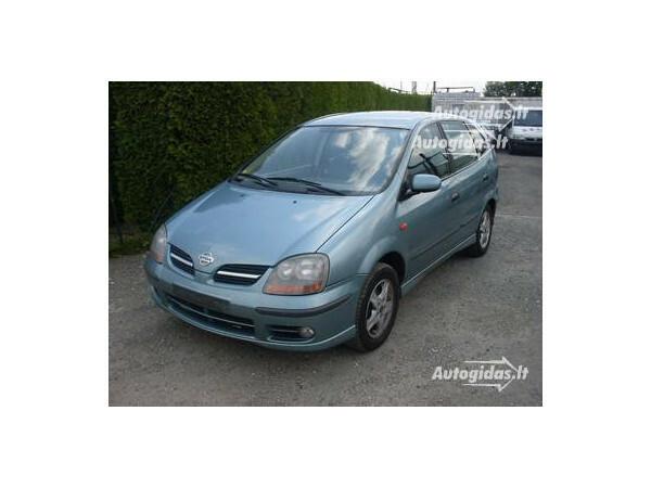 Nissan Almera Tino 2002 m. dalys