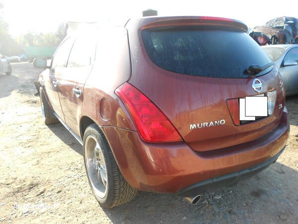 Nissan Murano 2004 m. dalys