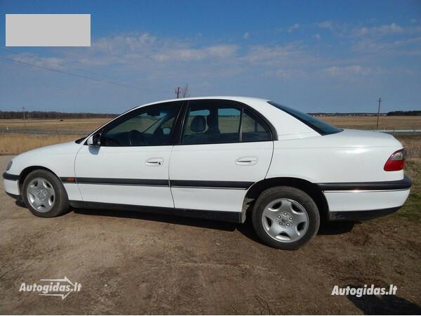 Opel Omega B 1999 m. dalys