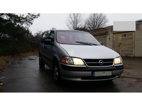 Opel Sintra 2002 m. dalys