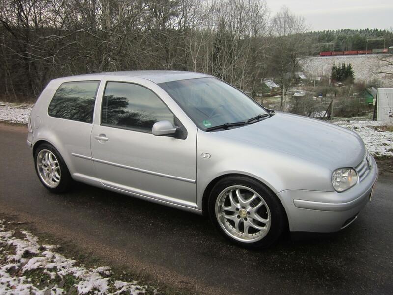 Volkswagen Golf IV 2003 m. dalys