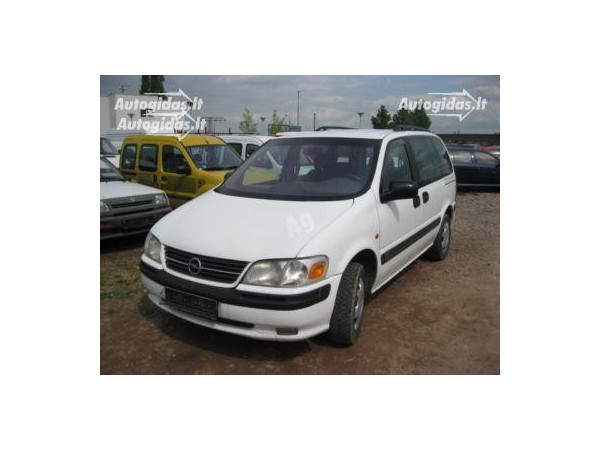 Opel Sintra 2001 m. dalys