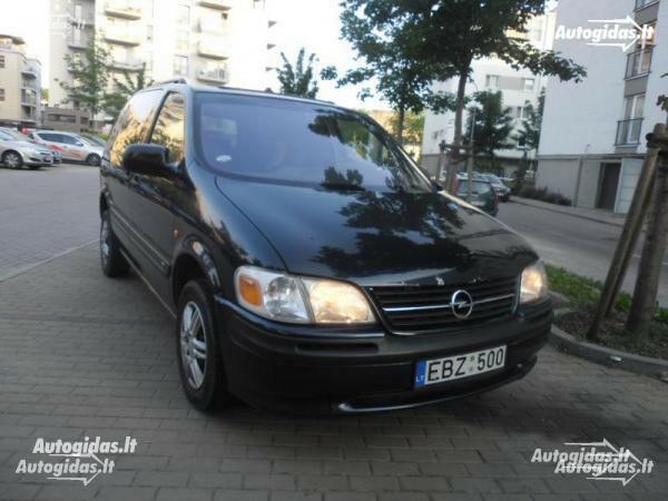 Opel Sintra 1999 m. dalys