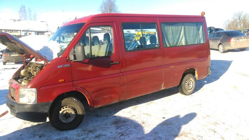Volkswagen Lt 2001 m. dalys