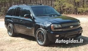 Chevrolet Trailblazer, 2004m.