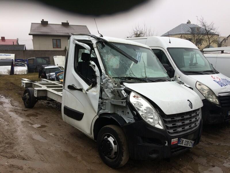 Renault Master IV 2014 г. запчясти