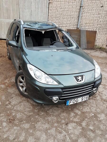Peugeot 307 II Hdi 2007 m. dalys