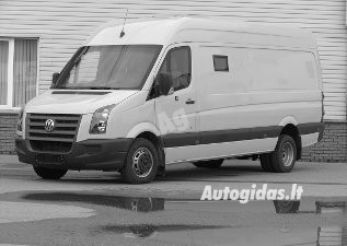 Volkswagen Crafter 2008 y. parts