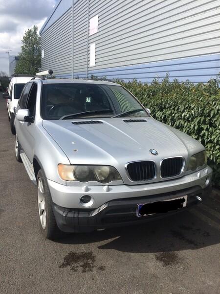 Bmw X5 E53 2002 m. dalys