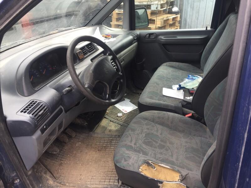 Fiat Scudo 2001 y. parts