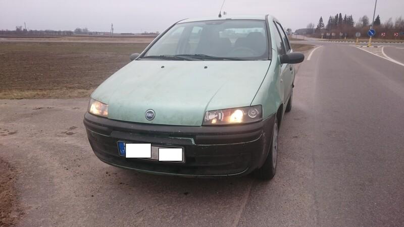 Fiat Punto 1.2 2002 y parts