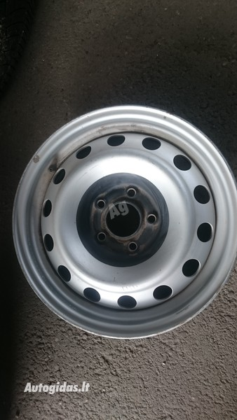 Fiat Scudo R15 plieniniai štampuoti  ratlankiai