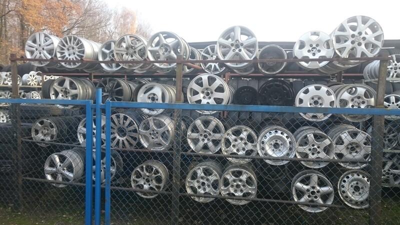 Audi A6 R16 plieniniai štampuoti  ratlankiai