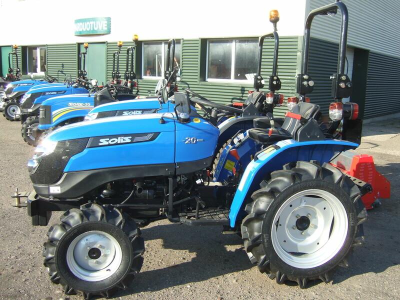 Photo 9 - Tractor  Solis 20 2021 y