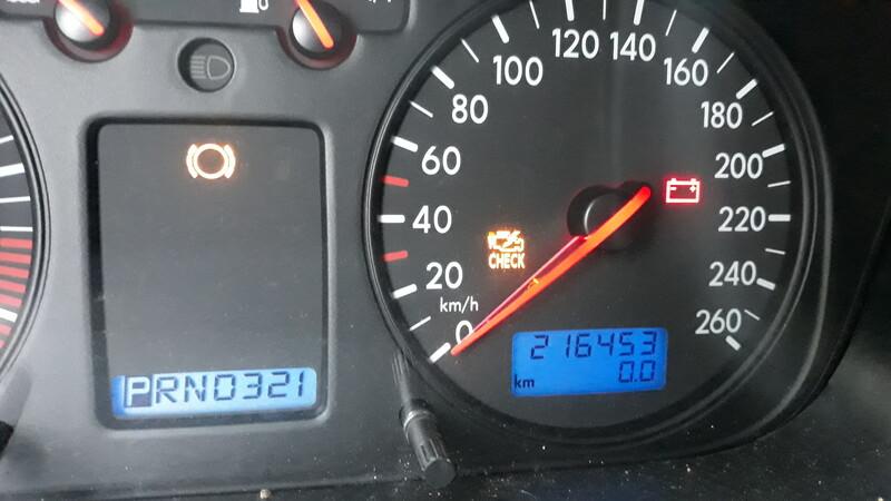 Volkswagen Caravelle Clima,esp 2003 m dalys