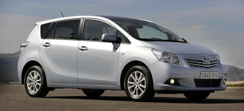 Toyota Verso 2010 m dalys