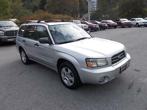 Subaru Forester 2003 m dalys