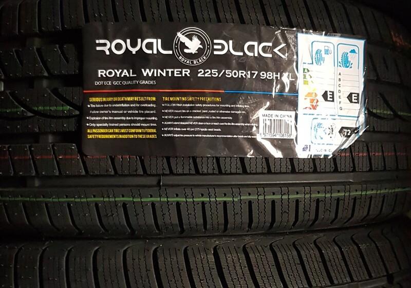 Royalblack R17 winter  tyres passanger car