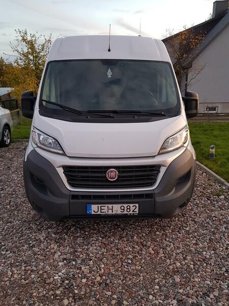 Krovininis mikroautobusas  Fiat DUCAT 2017 m nuoma