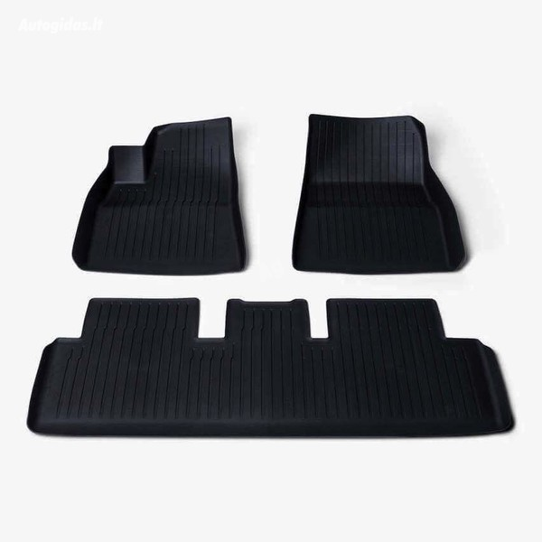 Tesla Model 3 2019 y kilimėlių komplektas gum. liners m3 (tesla)
