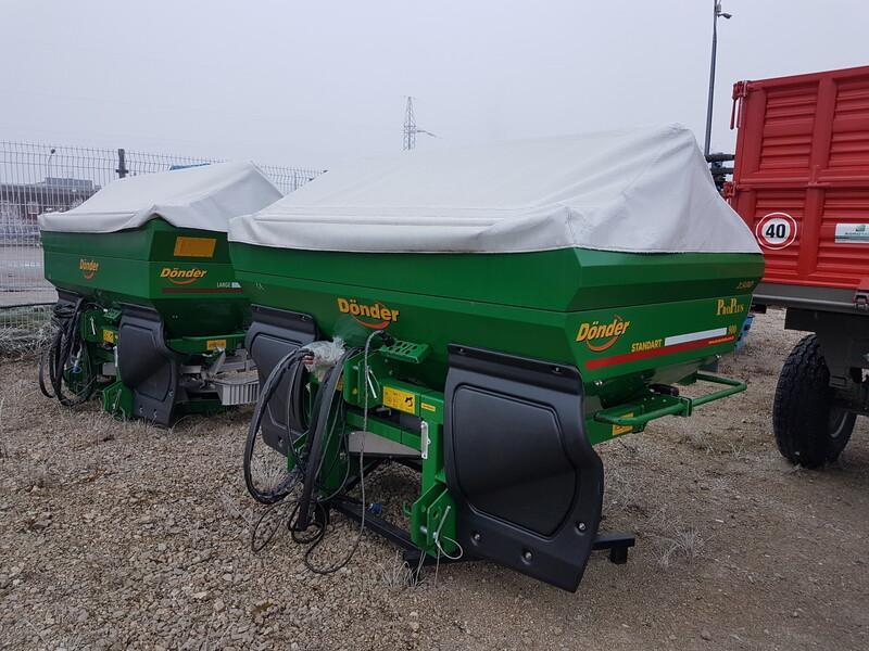 Photo 2 - Fertilizer spreaders  Dönder Donder 2021 y