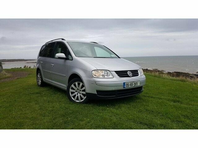 Volkswagen Touran I Tdi 2005 m dalys