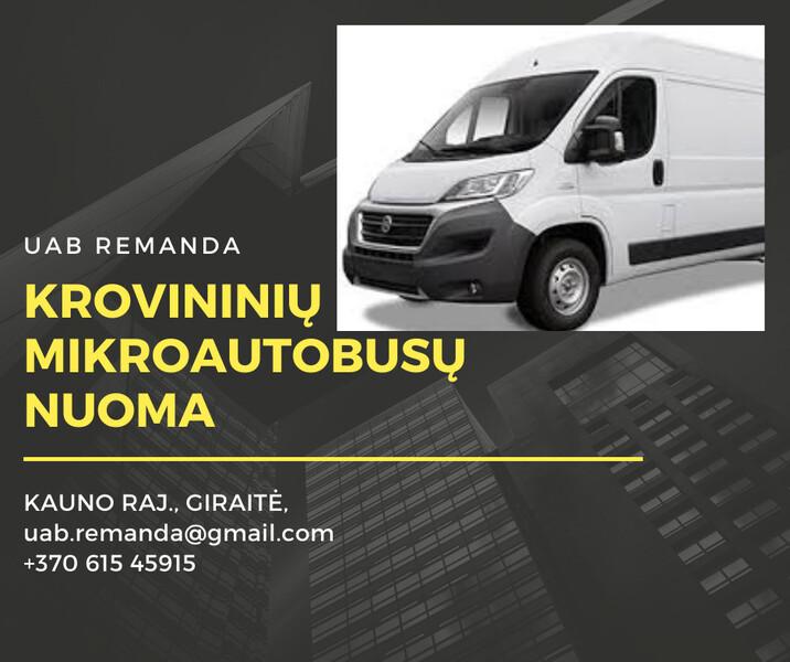 Heavy minibus  Fiat DUCAT 2017 y rent