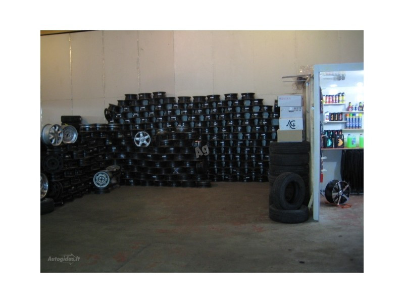 Nuotrauka 2 - R15 plieniniai štampuoti  ratlankiai
