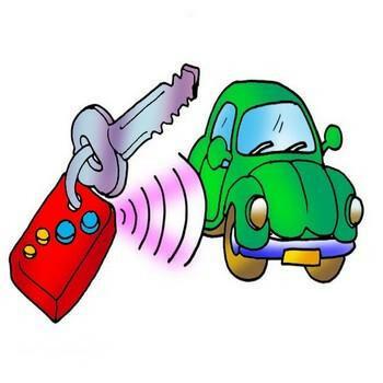Signalizacijų montavimas. avarinis automobilių sig