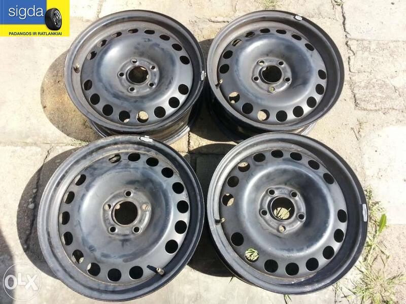 Opel R16 plieniniai štampuoti  ratlankiai