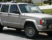jeep cherokee i Visureigis 1990