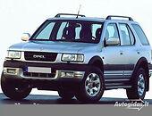 opel frontera b Visureigis 2000