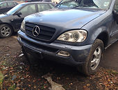mercedes-benz ml 270 w163 Visureigis 2004