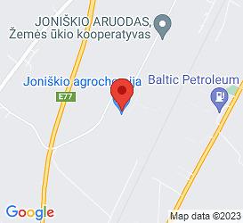 """UAB """"Joniškio Agrochemija"""", Sandėlių gatvė 7, Joniškis 84165, Lietuvos Respublika"""